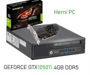 HP EliteDesk 800 G1 s GTX grafikou